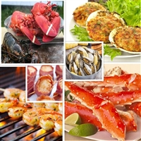25% off select appetizers with purchase of 4 Large Lobsters