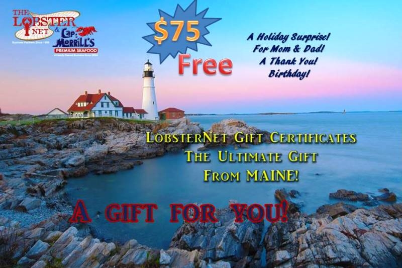 *Gift Certificate FREE with purchase