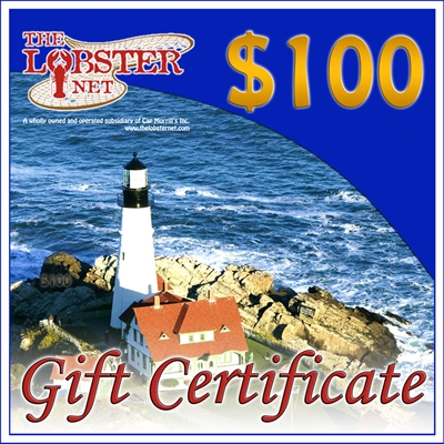 100.00 dollar Gift Certificate (You will receive $5 Give Back Code )