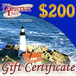 200.00 dollar Gift Certificate ($30 give back code)