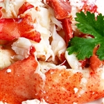 FRESH LOBSTER MEAT w/ Tail   (2 Lb PKG)