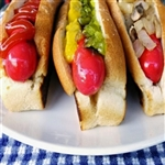 Get Real, Get Maine 24 Hot Dogs w/ rolls!