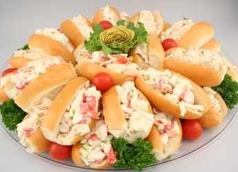 *Lobstermeat/ Crabmeat Finger Roll Kit for 24