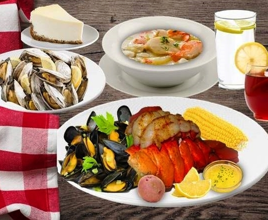 Lobster, Crabcakes & Chowder