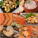 Smoked Scallops, Salmon Lox, Trout, Mussels & more