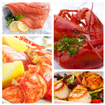 Live Lobster, Salmon, LobsterMeat, Scallops (NL)