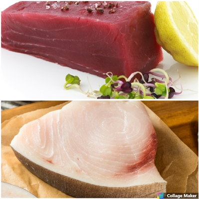 Sword Steaks. Tuna Steaks