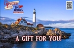 Print Gift Certificate (Starting at $25.00)