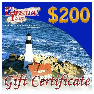 *200.00+ dollar Gift Certificate (only) Free Ship Overnight