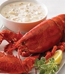 *2 - 3 lb Lobsters + Chowder